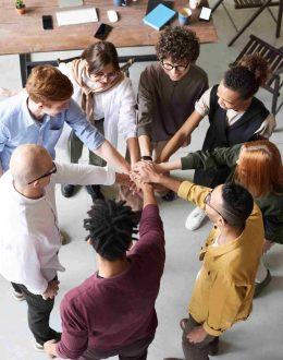 JONXIO les champs d'action de la Fédération : entraide solidarité